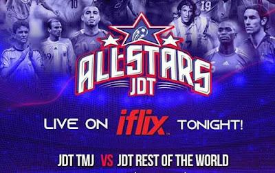 Live Streaming JDT TMJ vs JDT Rest Of The World 30 Jun 2019
