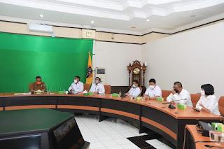 Kunjungan Deputi Bidang Penindakan BPOM