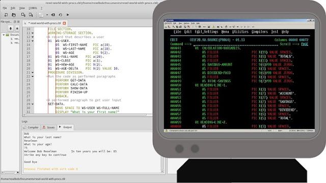 example of old programming languages - editblogtema