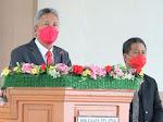 Bupati Minsel FDW Marah Besar. Naskah Pidato Yang di Bacanya Tetcantum Nama DR. Christiany Paruntu