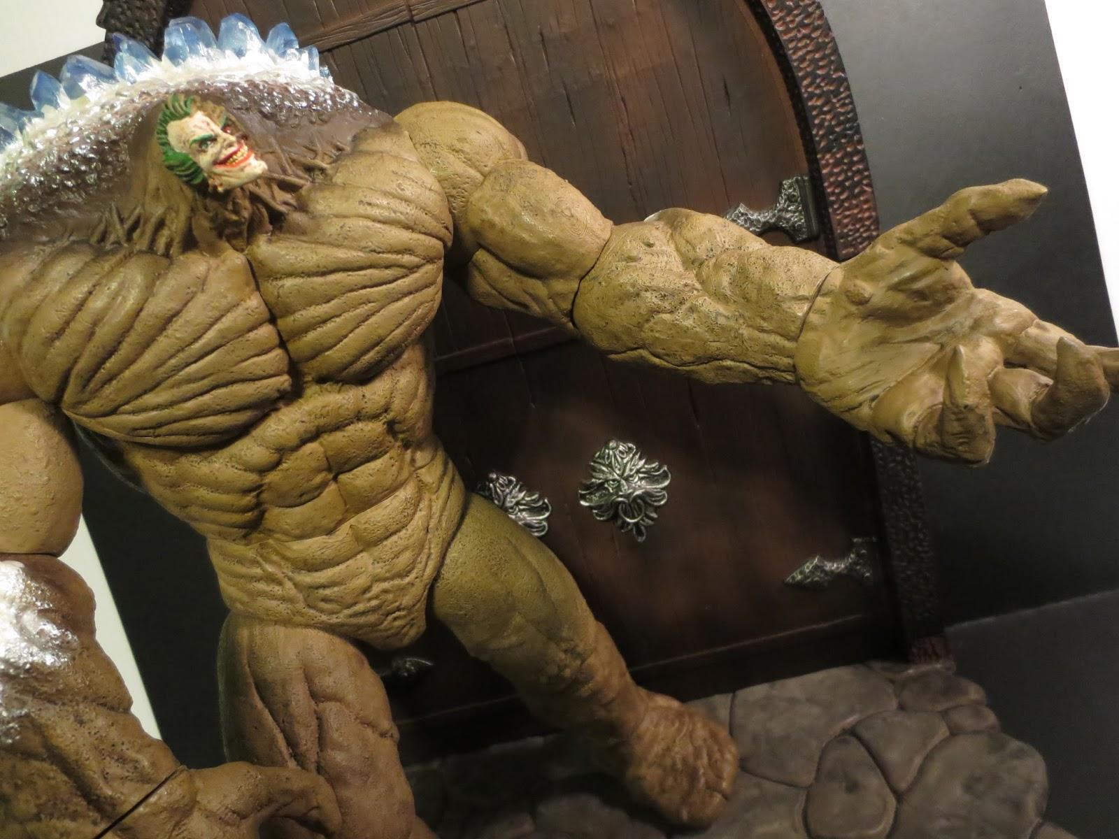 DC Collectibles Batman: Arkham City CLAYFACE Action Figure ...  |Clayface Action Figure