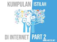 Kumpulan Istilah Yang Ada di Internet Part 2