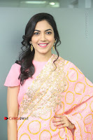 Actress Ritu Varma Pos in Beautiful Pink Anarkali Dress at at Keshava Movie Interview .COM 0061.JPG