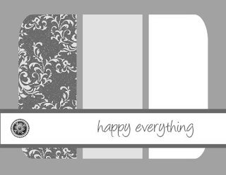 Card Layout & Measurements by Julie Davison, www.juliedavison.com