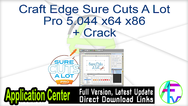 Craft Edge Sure Cuts A Lot Pro 5.044 x64 + Crack