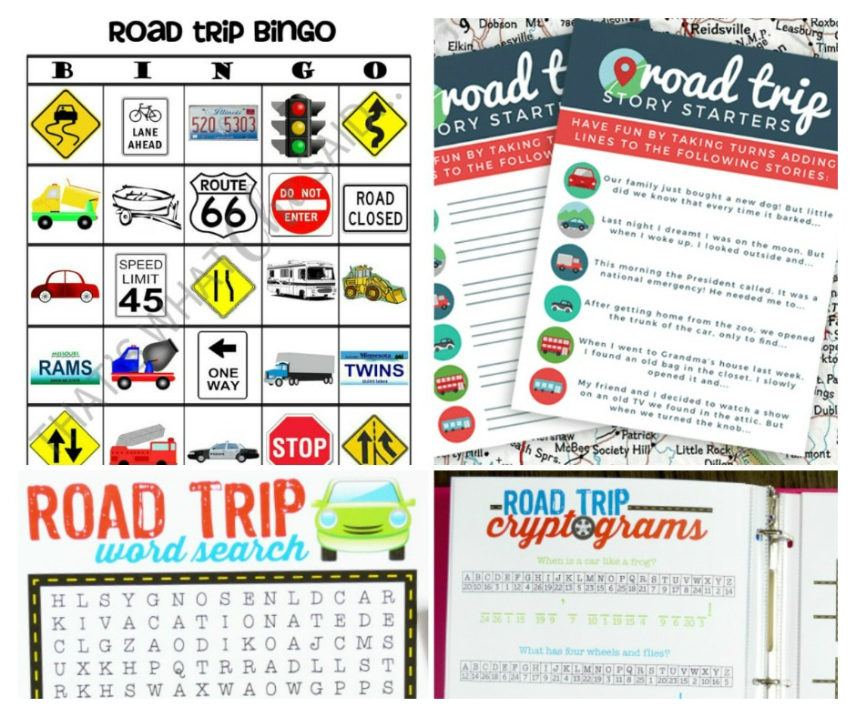 our last family road trip post has been read more than 50000 times and its been shared more than 8000 times it was full of the ideas we came up with to - Free Fun Printables