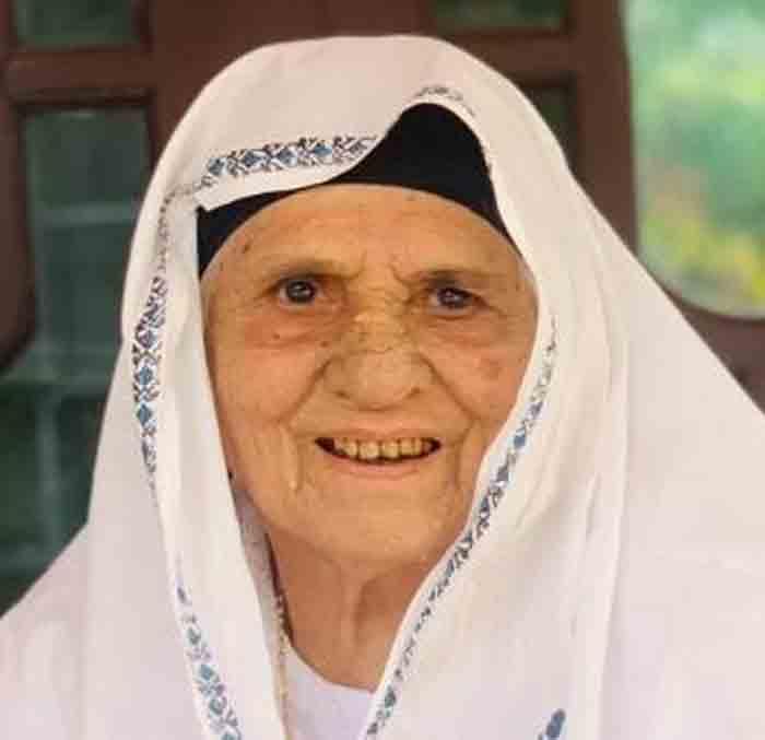 Khadeeja of Bavikkara Enappamoola passed away