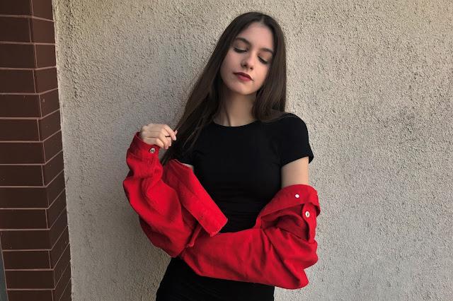 Red Jacket   SheIn