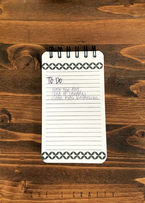 Little Habits that make a Big Difference  |  make a to do list