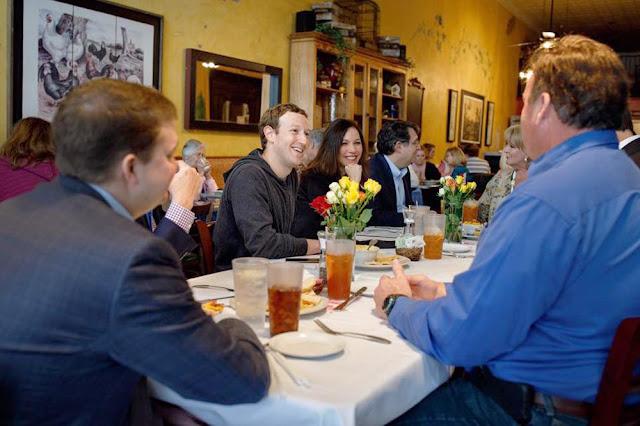 Mark Zuckerberg visits Waxahachie, TX