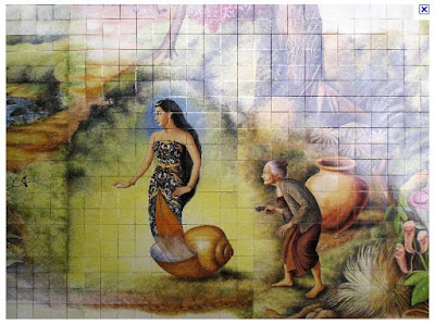 Indonesian Fairy tale : Keong Mas