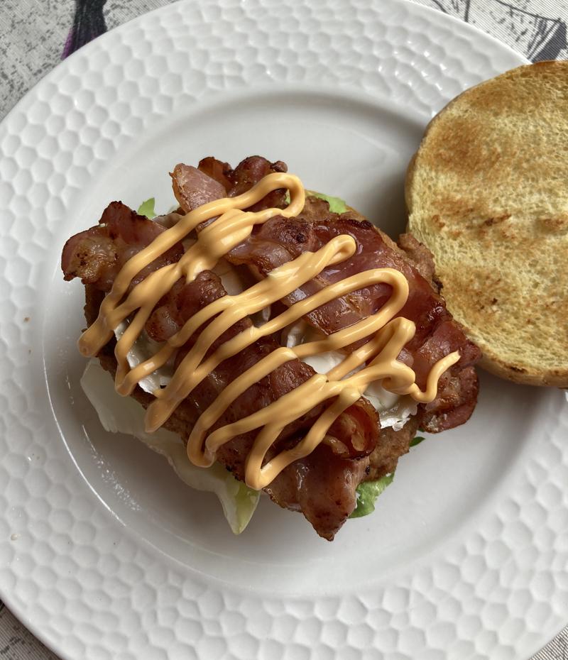 Pan hamburguesa brioche