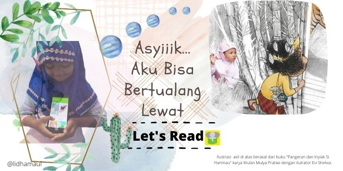 Yuk, Ajak Anak Bertualang Bersama Let's Read !
