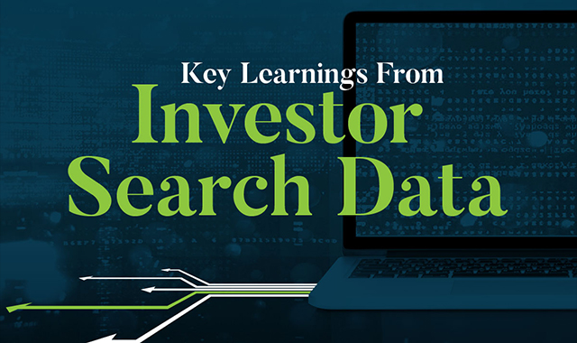 Key Learnings From Investor Search Data #infographic