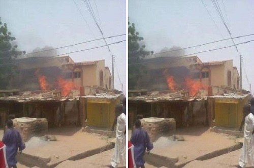 Burning Of Senator's House Over Failed Campaign Promises, Police Arrests 18