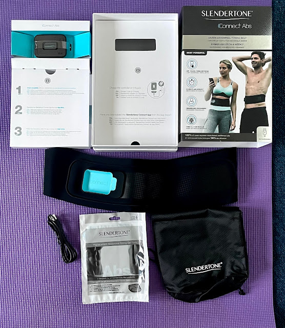Slendertone Connect Abs Toning Belt Review and unboxing
