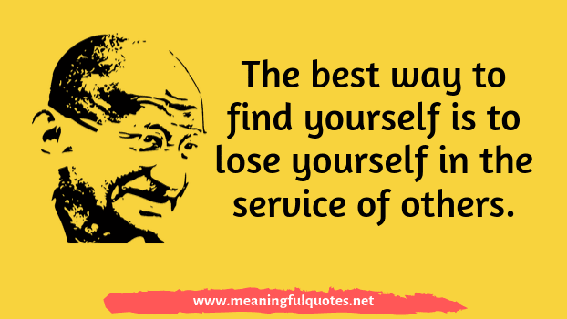 Mahatma Gandhi quotes and messages