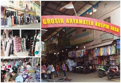 daftar alamat toko tekstil terlengkap daerah Tangerang Banten
