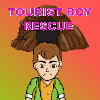 Games2Jolly Rescue The Tourist Boy From Cave
