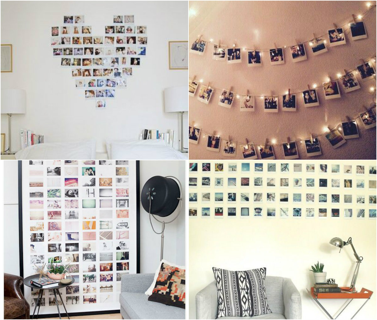 Polaroid display inspiratie