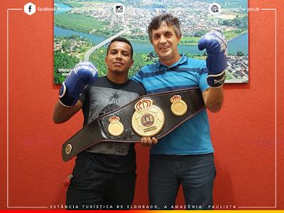 Eldoradense conquista o título brasileiro de boxe