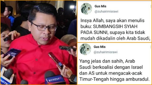 Pernah Menyinggung Arab Saudi, Politikus PDIP Zuhairi Misrawi kok Mau Diangkat Jadi Dubes di Sana