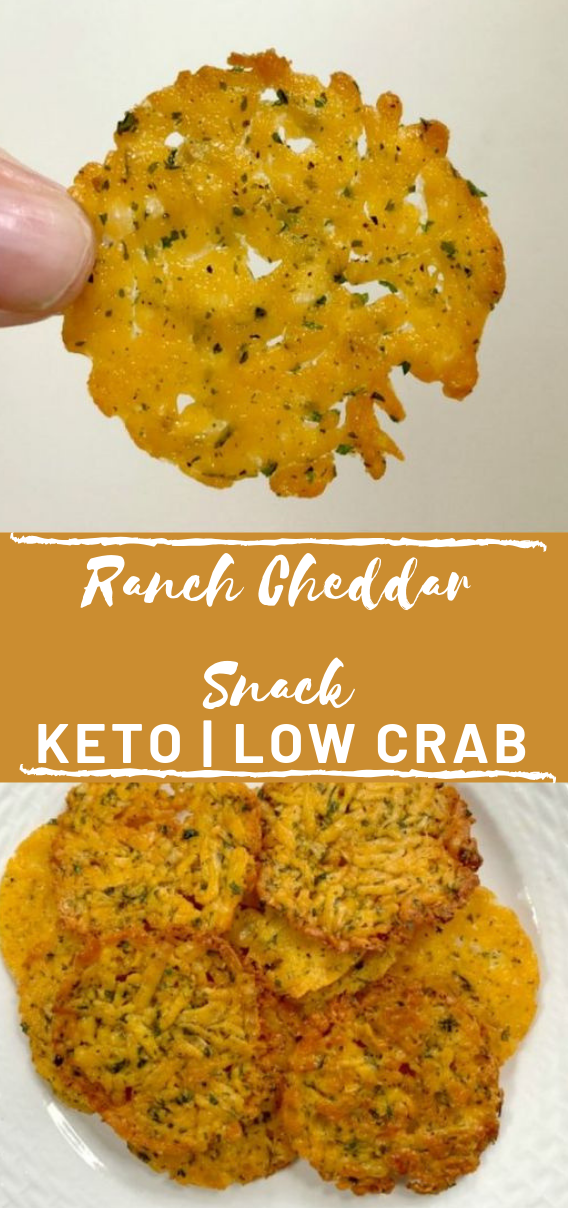 CHEDDAR RANCH CHEESE CRISPS  #diet #lowcarb #whole30 #paleo #food