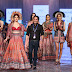 Amyra Dastur turned show stopper for Designer Rajdeep Ranawat on the final day at Lakme Fashion Week S|R 2020.