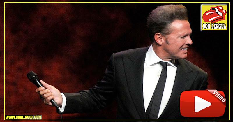 Luis Miguel golpeó al sonidista con su micrófono en pleno concierto