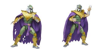 Mighty Morphin Power Rangers x Teenage Mutant Ninja Turtles Lightning Collection Green Ranger Shredder Action Figure by Hasbro