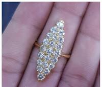 Jual Cincin Emas Berlian Banjar