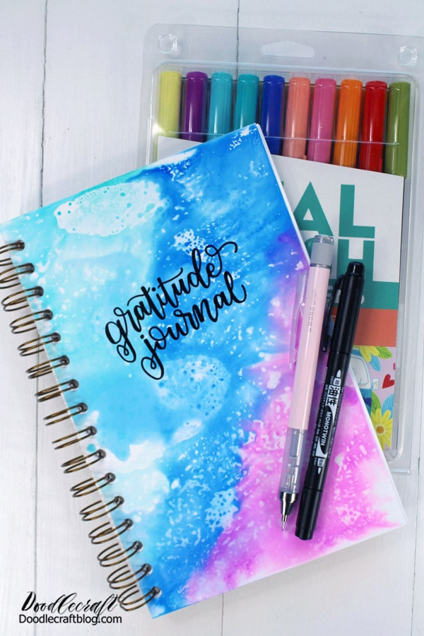 """Start by making a simple gratitude journal. Then, write three things each day that you are thankful for. It could be something as simple as """"I took a shower"""" to noticing a new blossom on a plant in the yard. After three weeks of consistent gratitude writing, you will feel a noticeable difference and start to see the sunshine through the clouds."""