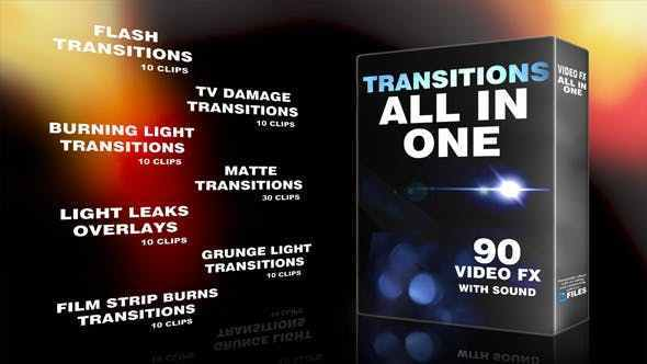 Videohive Transitions 10815849
