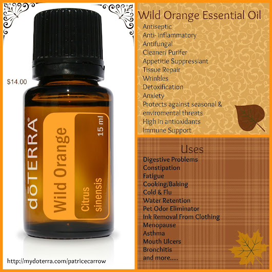 Wild about Wild Orange Essential Oil