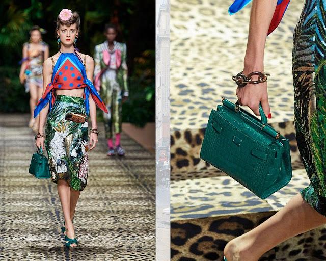 Dolce & Gabbana весна-лето 2020 Показ моды 5