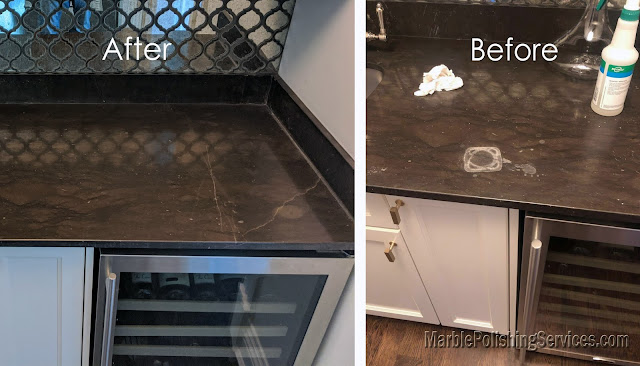 Remove Acid Stains from Marble