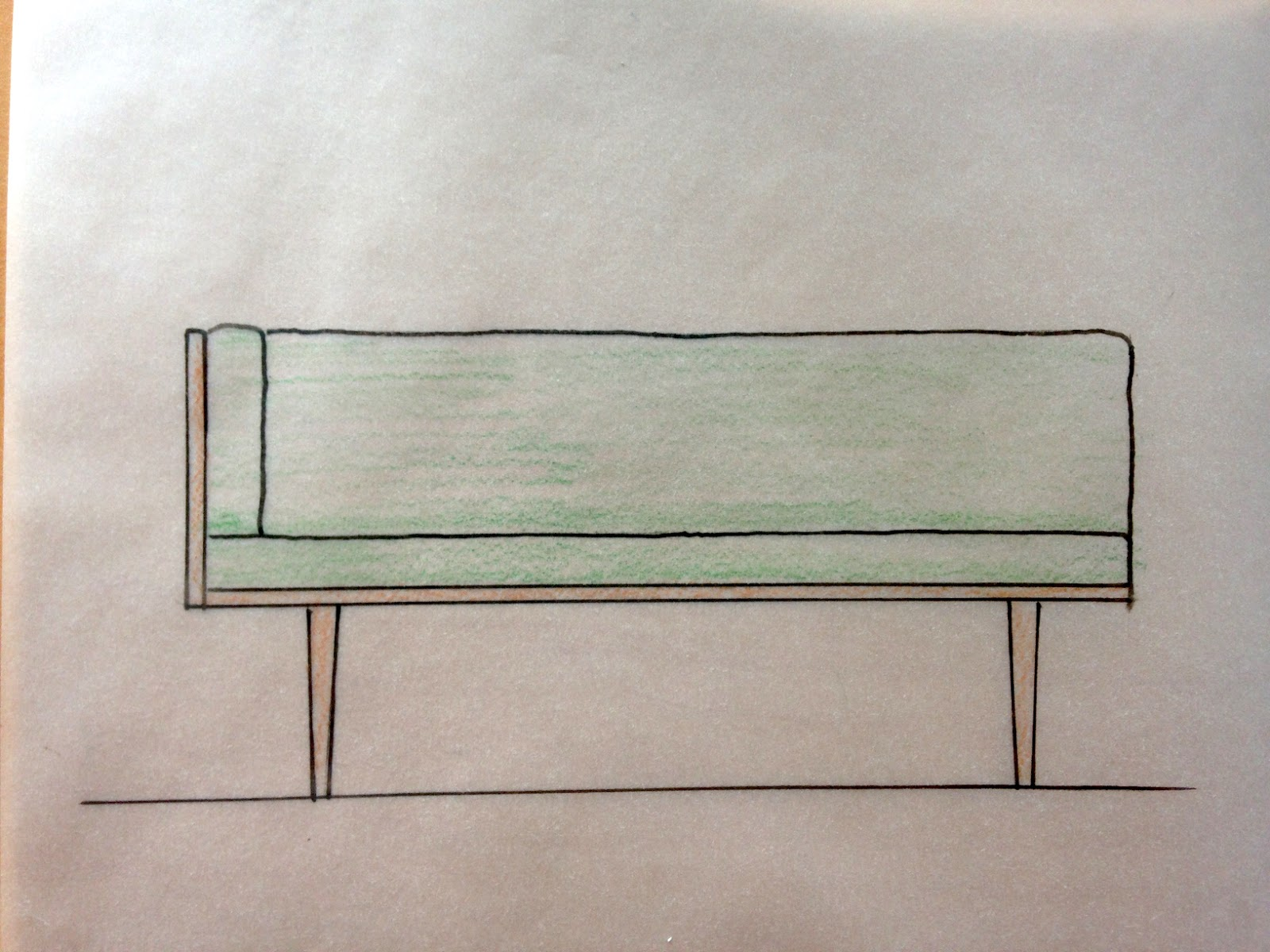 Sketch Of My Sofa