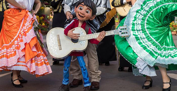Día de Muertos en Disneyland.