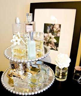 Porta bolo para perfumes