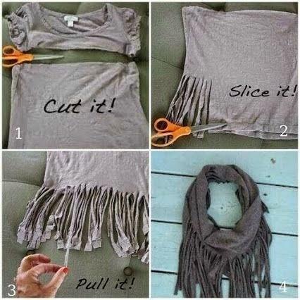 #T11 DIY: Una Bufanda muy Chic en 4 pasos