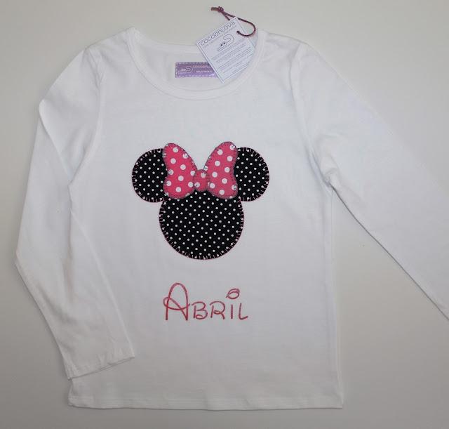 camiseta minnie mouse personalizada