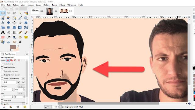 تحويل صورتك الشخصية لكرتون cartoon