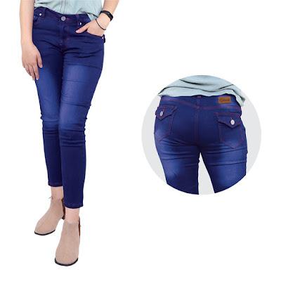 Celana Jeans Wanita Catenzo NU 064
