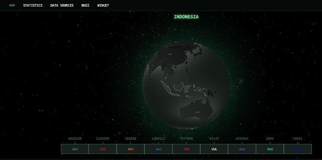 CyberThreat-Kaspersky-Map