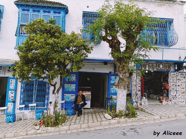 Sidi-Bou-Said-strazi-arhitectura-albastru