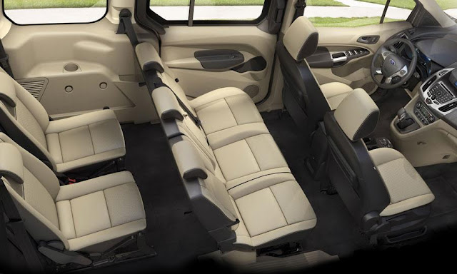 2014 Ford Transit Connect Wagon Interior Design