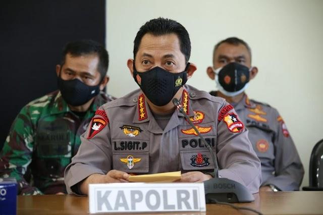 Kapolri Prihatin  Terhadap Hilangnya KRI Nanggala 402, Kapolri : Kami telah menurunkan 4 kapal guna mensupport pencarian