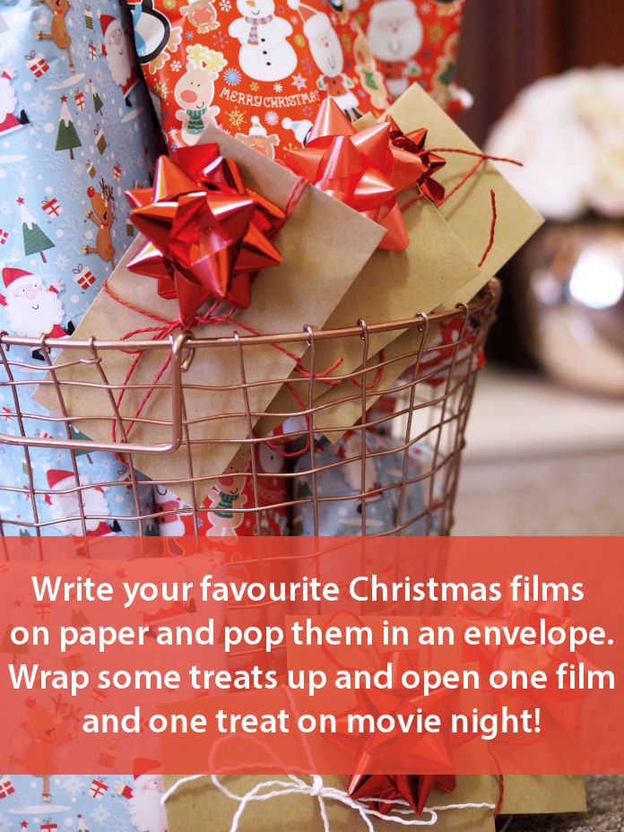 Wrap up your favourite Christmas Films to unwrap on Movie Night