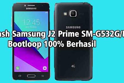 Cara Flash Samsung J2 Prime SM-G532G/DS Bootloop 100% Berhasil