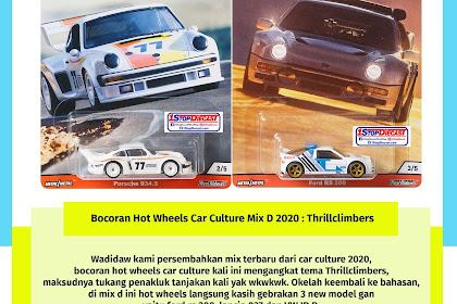 Bocoran Hot Wheels Car Culture Mix D 2020 : Thrillclimbers